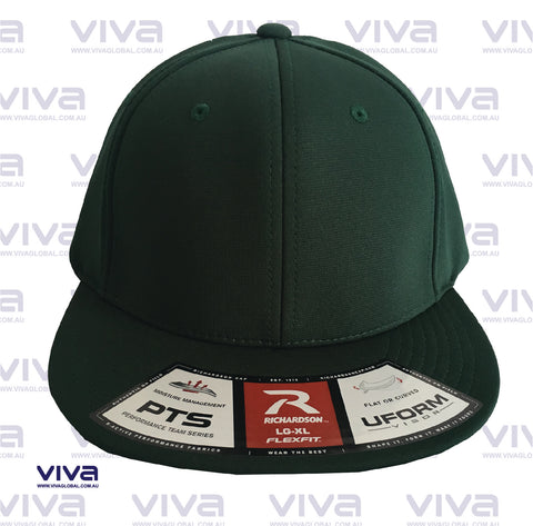 RICHARDSON SOLID GREEN CAP