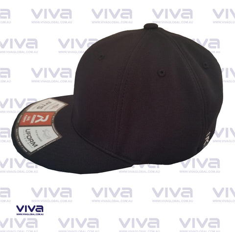 SOLID BLACK RICHARDSON CAP