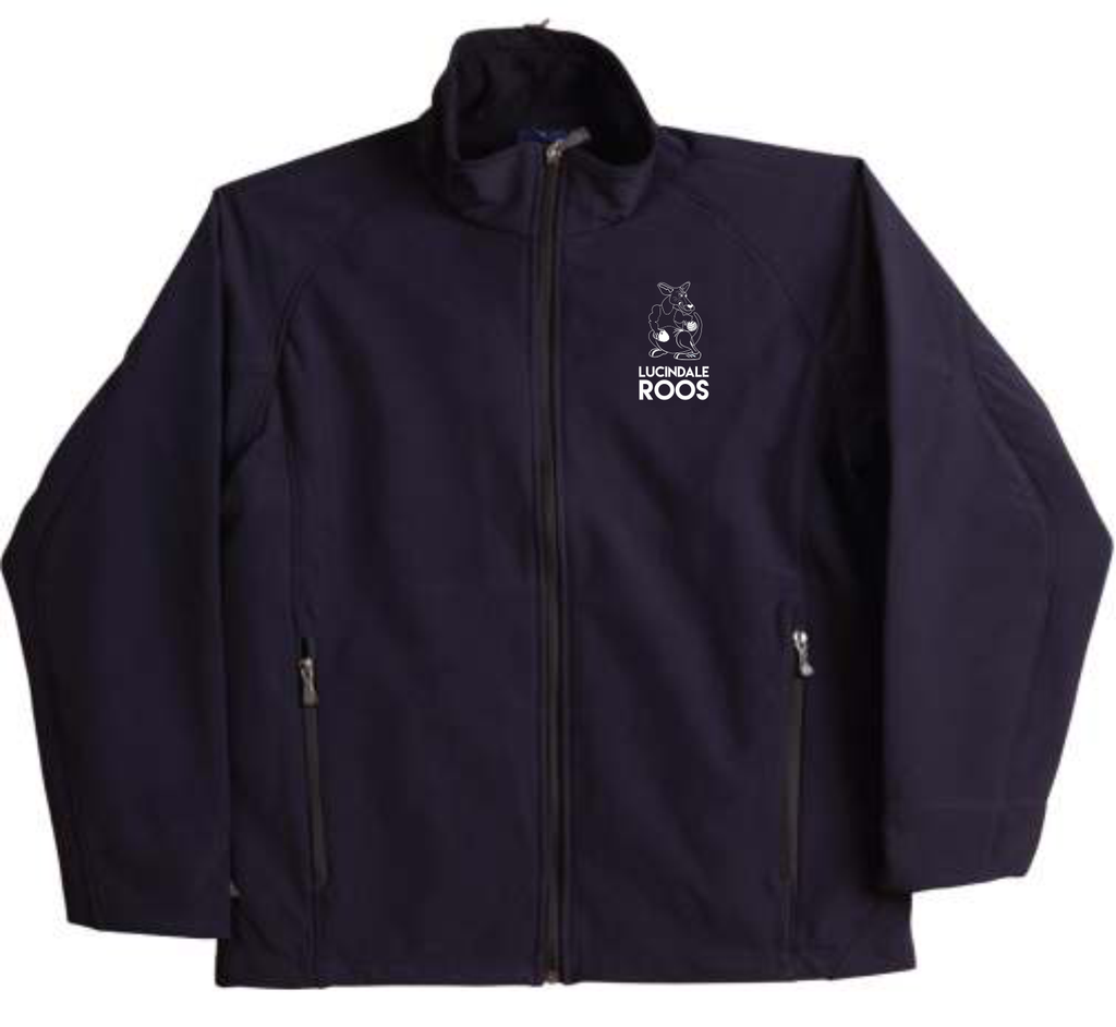Lucindale Football/Netball Club Ladie's Softshell Jacket