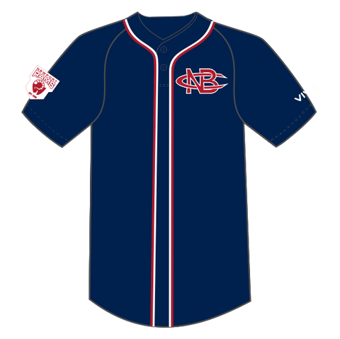 Newport Rams Baseball Club - Sublimated BP Jersey