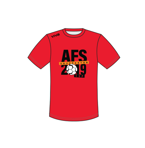 AFS Shepparton 2019 Cup - Tee-shirt -Red