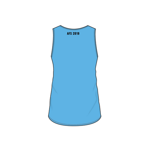 AFS Shepparton 2019 Cup - GIRLS sleeveless top - Blue