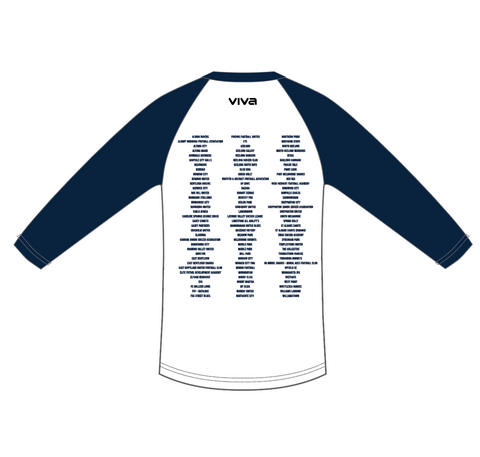 AFS Shepparton 2019 Cup - All Team names 3/4 sleeves tee-shirt