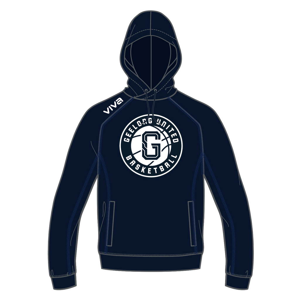 GEELONG UNITED BASKETBALL - FLEECE HOODIE