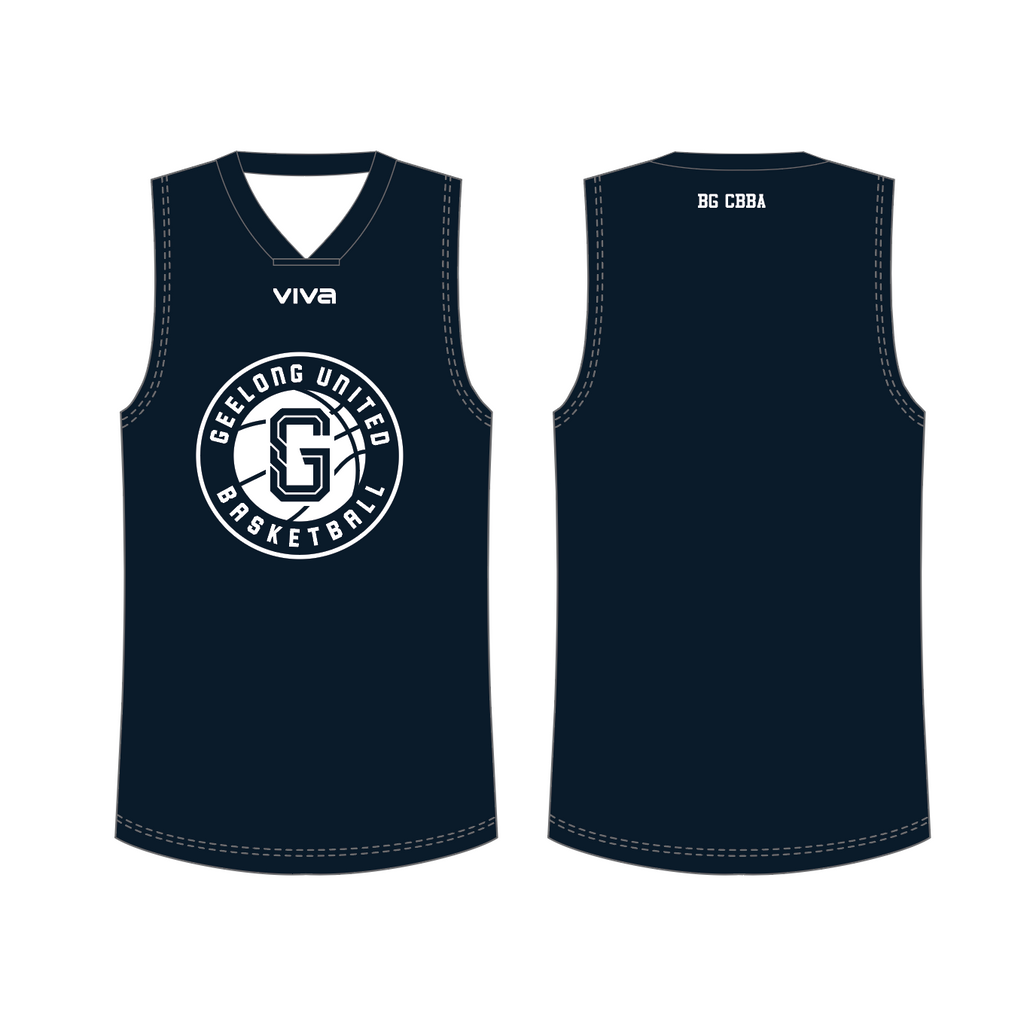 GEELONG UNITED BASKETBALL - REVERSIBLE TRAINING SINGLET