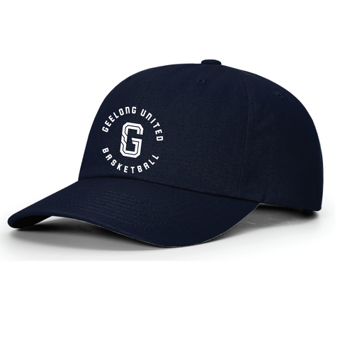 GEELONG UNITED BASKETBALL - cotton lifestyle adjustable cap