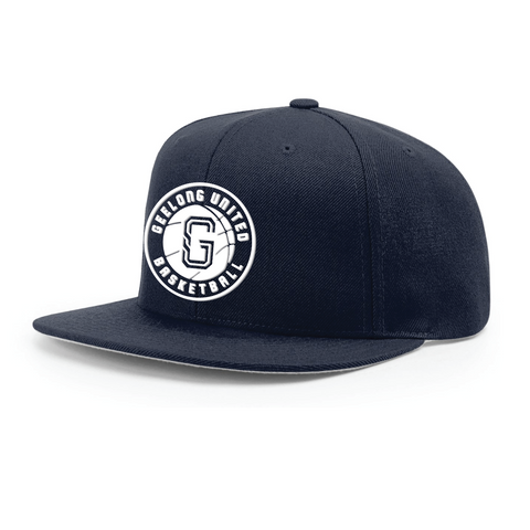 GEELONG UNITED BASKETBALL - WOOL FLAT BRIM - 3D LOGO