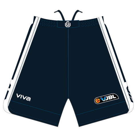 GEELONG UNITED BASKETBALL - VJBL PLAYING SHORTS - GIRLS/WOMEN