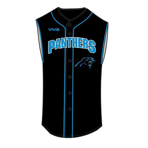 MOORABBIN PANTHERS BASEBALL CLUB - SLEEVELESS BASEBALL JERSEY