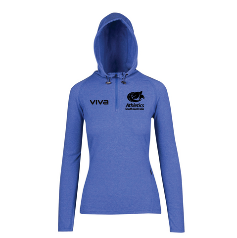 ATHLETICS SA TRAINING HALF ZIP SWEAT - WOMENS
