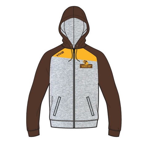 LANGHORNE CREEK FC HOODED JACKET - UNISEX SIZES
