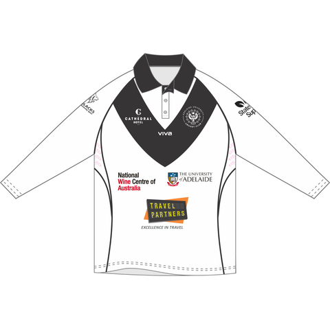 Adelaide University Cricket Club - Womens Long Sleeve Training Shirt