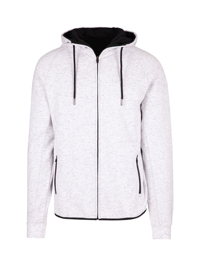 WHITE MARLE WINTER SPORTS ZIP HOODIE