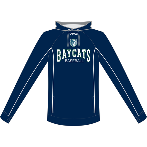 Geelong Baycats Baseball Club - Crossover Hoodie