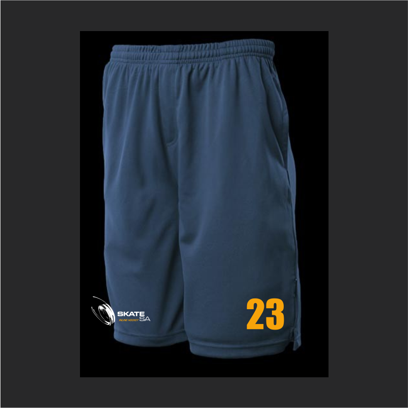 Skate SA State Athlete Shorts Inline Hockey