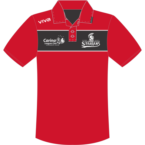 Southern Districts Spartans Basketball Association - Supporters Polo - Red