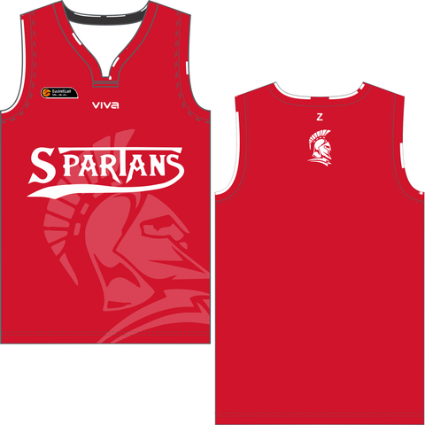 Southern Districts Spartans Basketball Association - Reversible Singlet