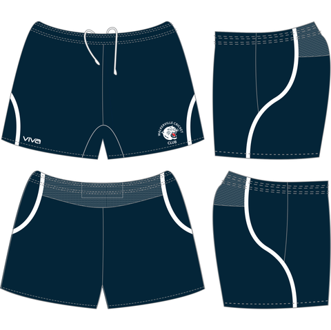 Walkerville Cricket Club - Training Shorts - Seniors