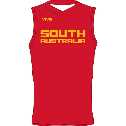 Basketball SA & SA Metro State Team Reversible Training Singlet