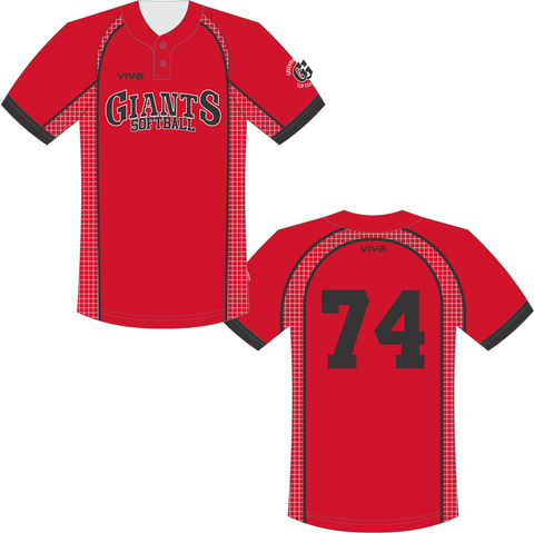 Greenway Giants - Softball Jersey