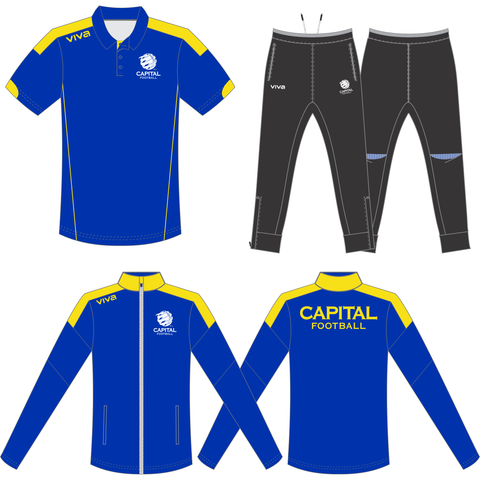 Capital Football - Talent Support Program - Players Pack