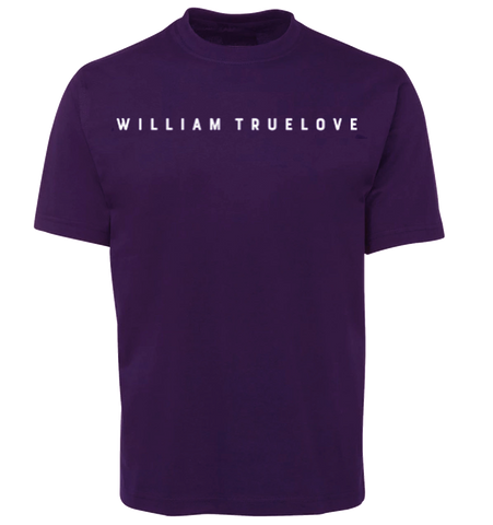 WILLIAM TRUELOVE PURPLE T-SHIRT
