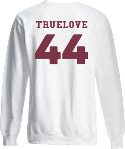 WILLIAM TRUELOVE LONG SLEEVE WHITE T-SHIRT