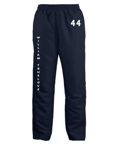 WILLIAM TRUELOVE NAVY SWEATPANTS