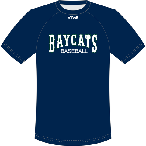 Geelong Baycats Baseball Club - Raglan Tee
