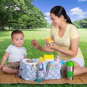0mile™ - Portable Baby Diaper Caddy Organizer