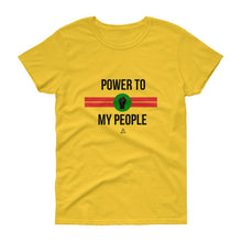 Power To My People - Women's short sleeve t-shirt