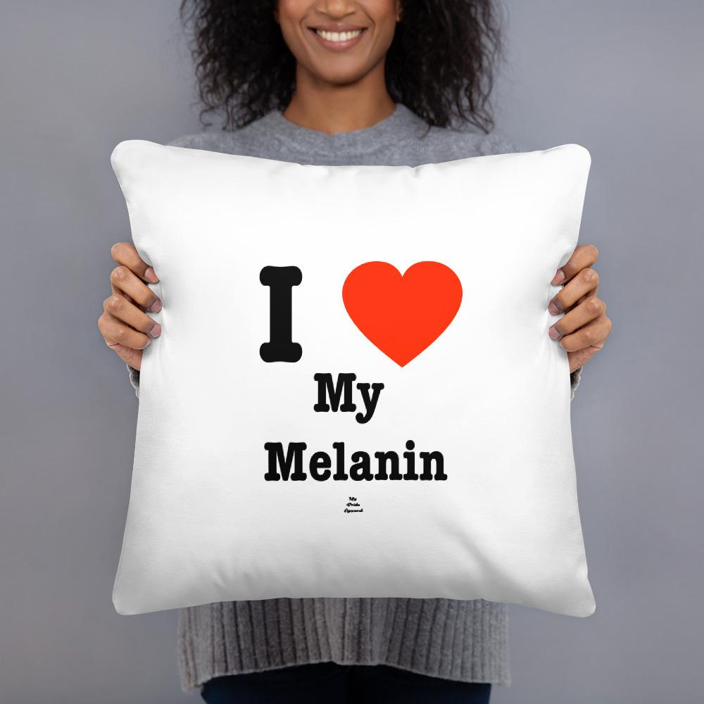 I Love My Melanin - Pillow
