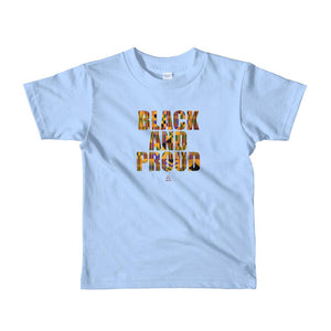 Black and Proud African Print - Toddlers T-shirt