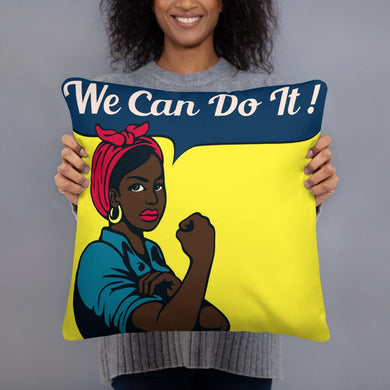 We Can Do It - Pillow