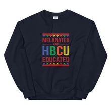 Load image into Gallery viewer, Melanated And HBCU Educated - Sweatshirt