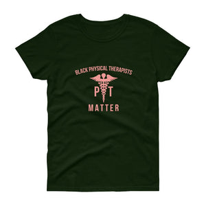 Black Physical Therapists (logo) - Women's short sleeve t-shirt