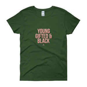 Young Gifted and Black - Women's short sleeve t-shirt