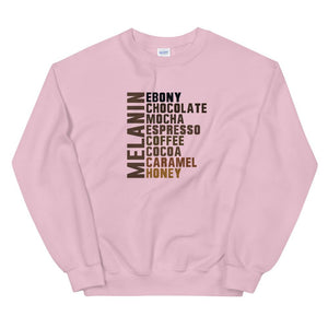 Melanin List - Sweatshirt