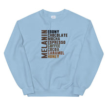 Load image into Gallery viewer, Melanin List - Sweatshirt