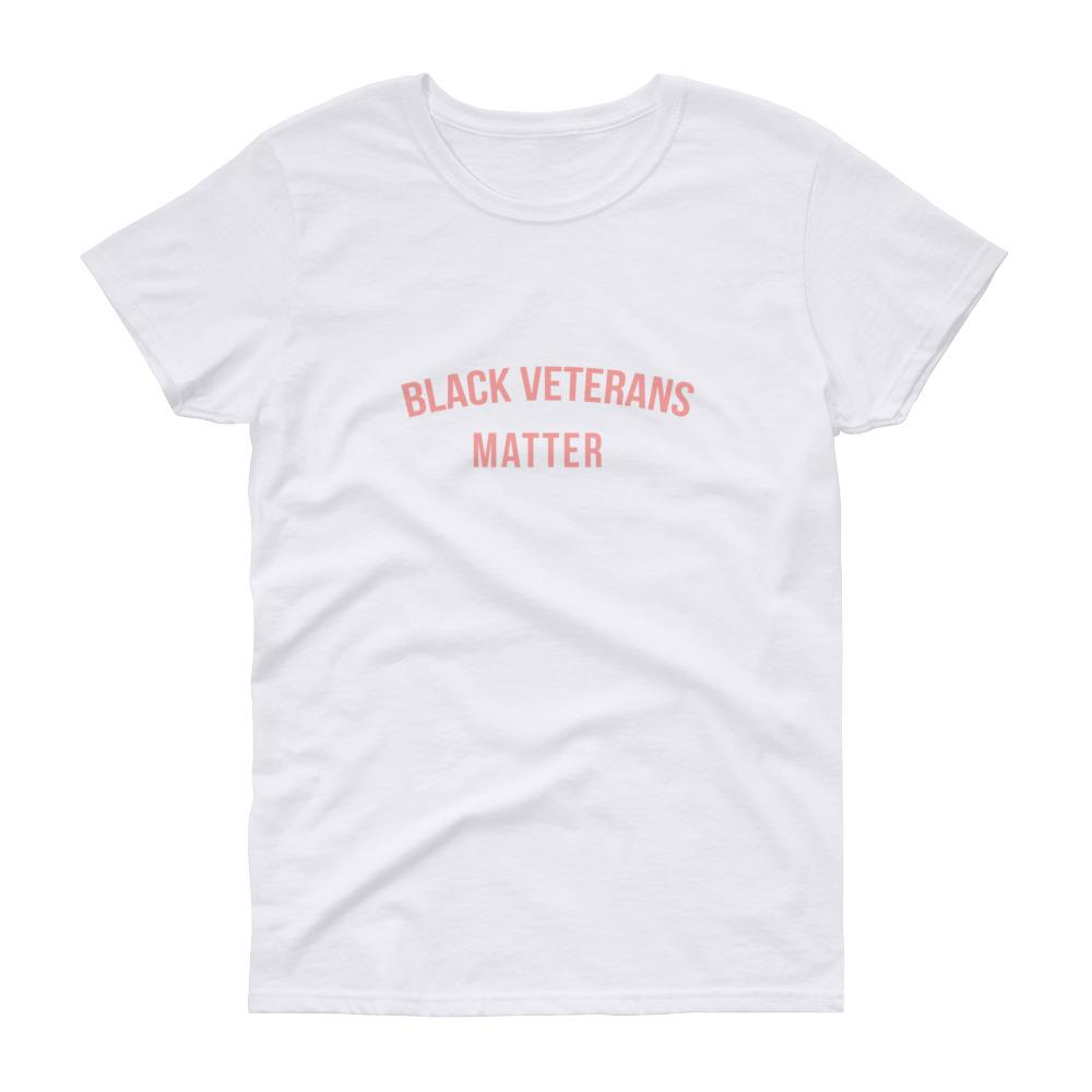 Black Veterans Matter - Women's short sleeve t-shirt