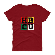 Load image into Gallery viewer, HBCU Blocks - Women's short sleeve t-shirt