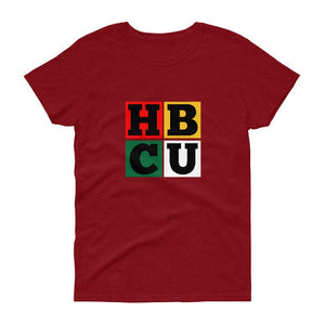 HBCU Blocks - Women's short sleeve t-shirt