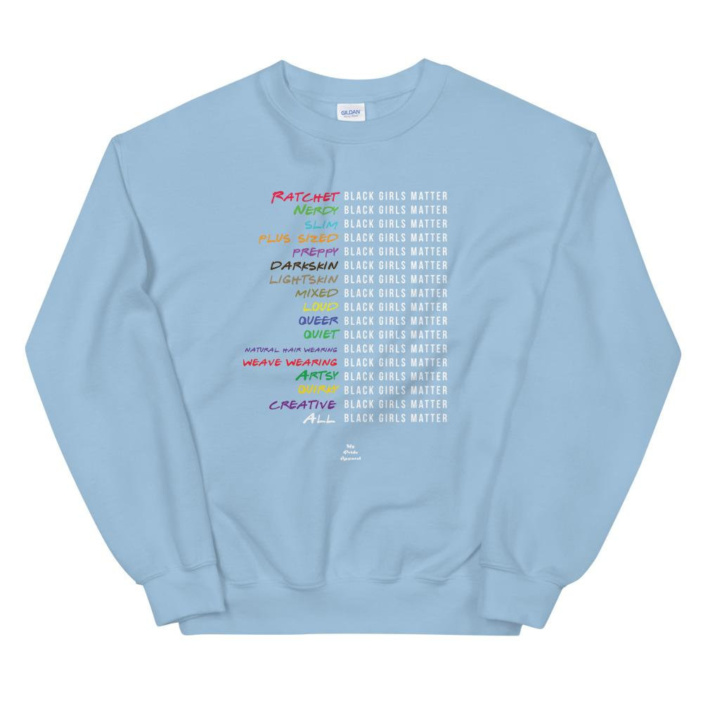 baby blue you matter hoodie