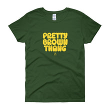 Load image into Gallery viewer, Pretty Brown Thang - Women's short sleeve t-shirt