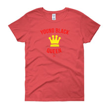 Load image into Gallery viewer, Young Black Queen - Women's short sleeve t-shirt