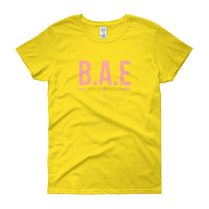 BAE Black And Educated - Women's short sleeve t-shirt