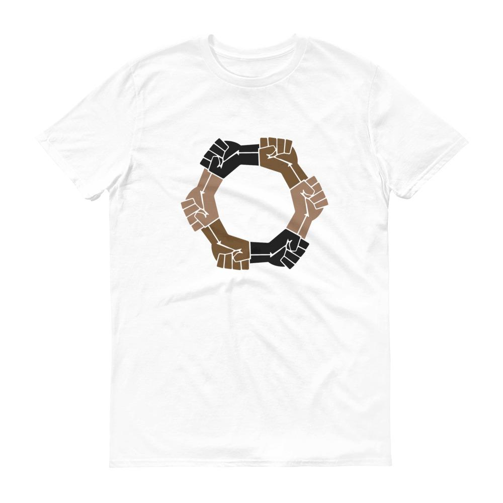 Linked Fists - Men's Short-Sleeve T-Shirt
