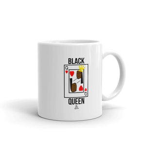 Black Queen Card - Mug