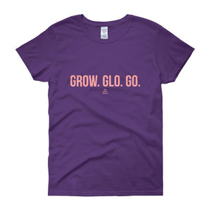 Gro Glo Go - Women's short sleeve t-shirt