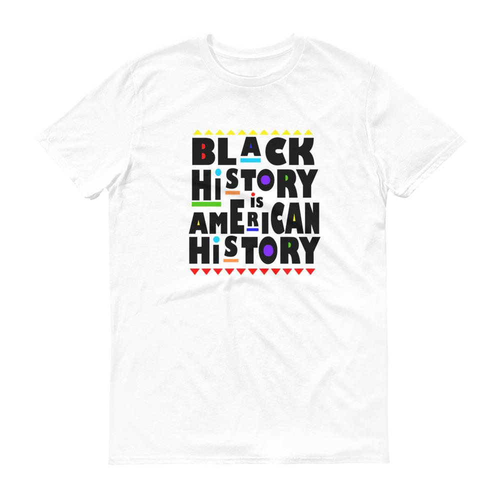 Black History Is American History - Men's Short-Sleeve T-Shirt